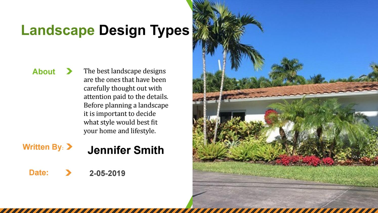 Types Of Landscape Design By Jennfier Smith Issuu