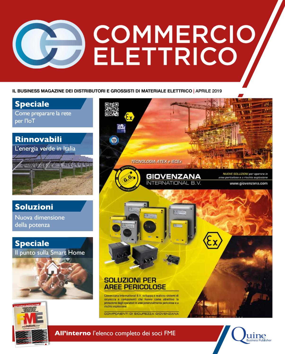 fc870a9719d1 Commercio Elettrico #3 – Aprile 2019 by Quine Business Publisher - issuu