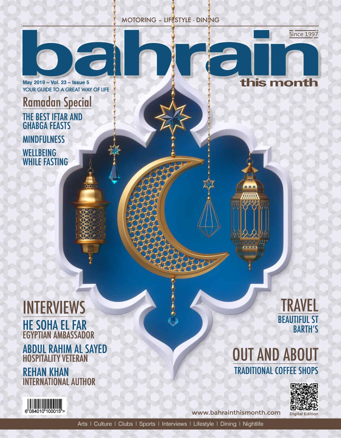Bahrain This Month - May 2019 by Red House Marketing - issuu