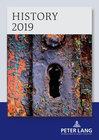 History Catalogue 2019 By Peter Lang Publishing Group Issuu