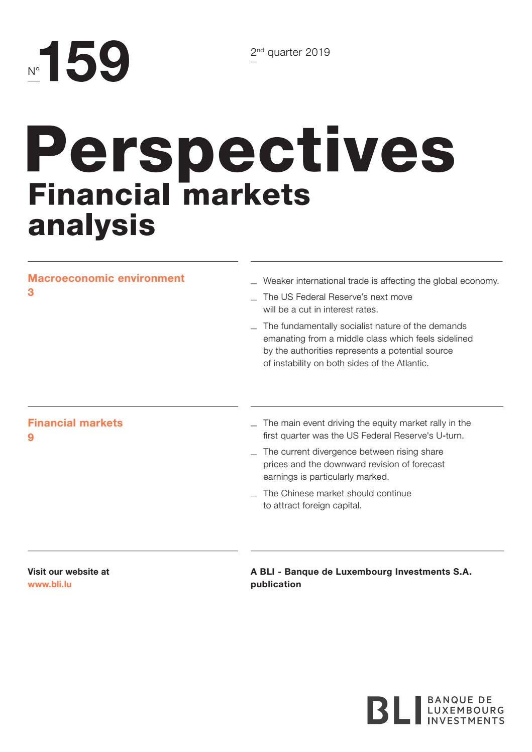 Perspectives 159 EN by Banque de Luxembourg - issuu