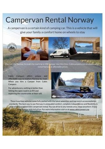 54c088df Explore the Beauty of Norway with Campervan Rental