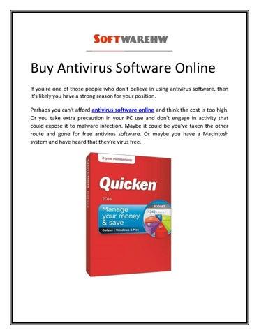antivirus software for pc online