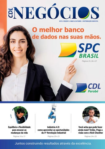 086b2dddc Revista - CDL Negócios - edição Maio 2019 by Ivonete de Parobé - issuu