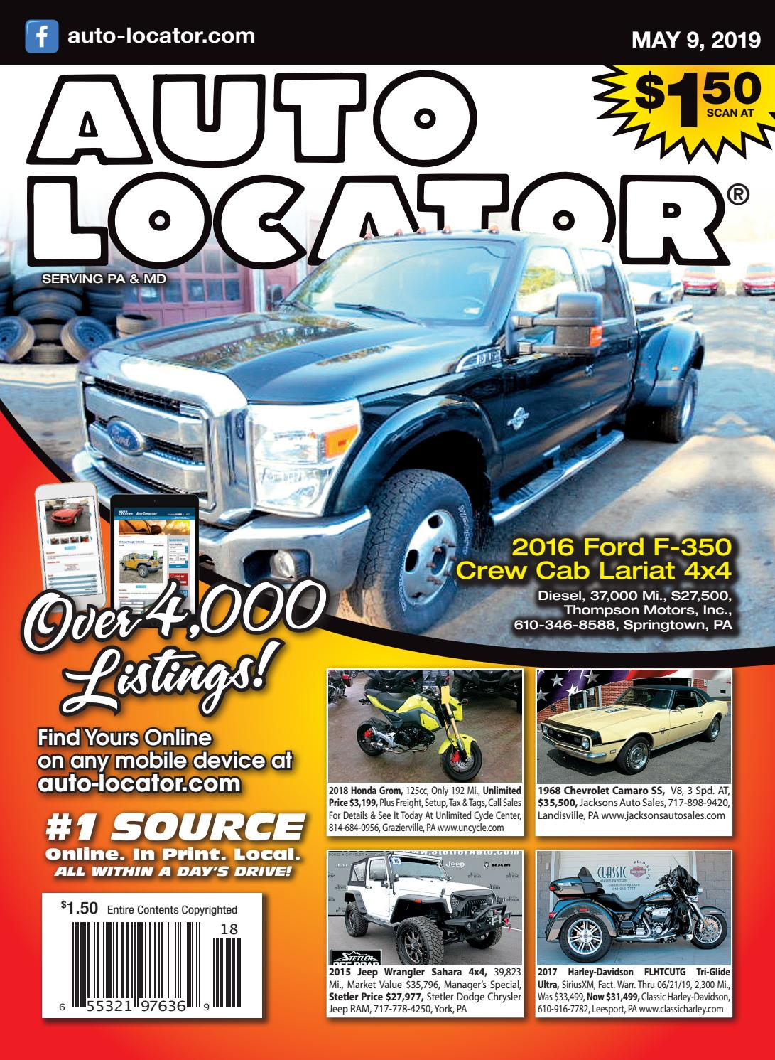 05-09-2019 Auto Locator by Auto Locator and Auto Connection - issuu