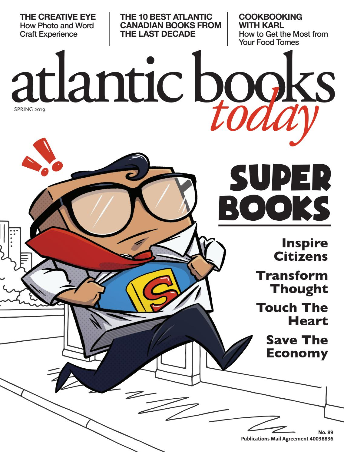 Atlantic Books Today Issue 89 - Spring 2019 by Atlantic
