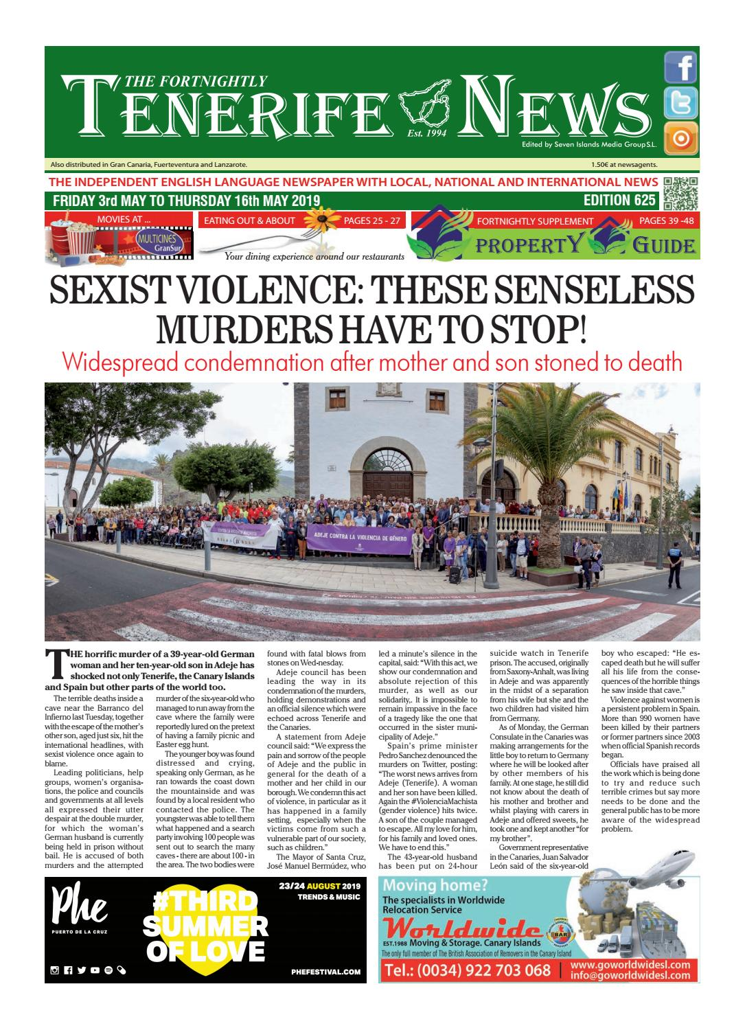 Edition 625 By Tenerife News Issuu