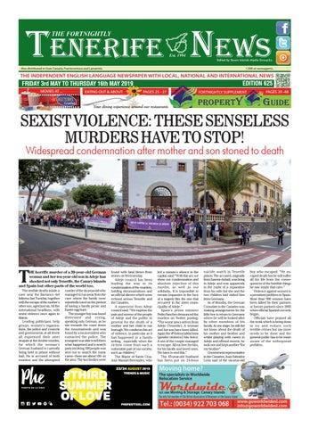 Edition 625 By Tenerife News Issuu