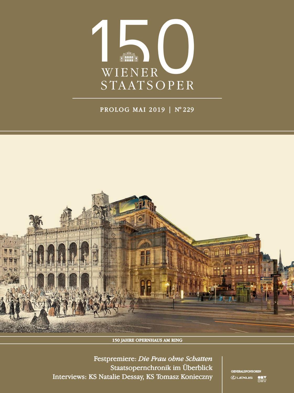 Prolog Mai 2019 Wiener Staatsoper By Wiener Staatsoper Gmbh Issuu