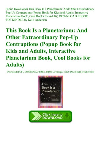 Epub Download) This Book Is a Planetarium And Other