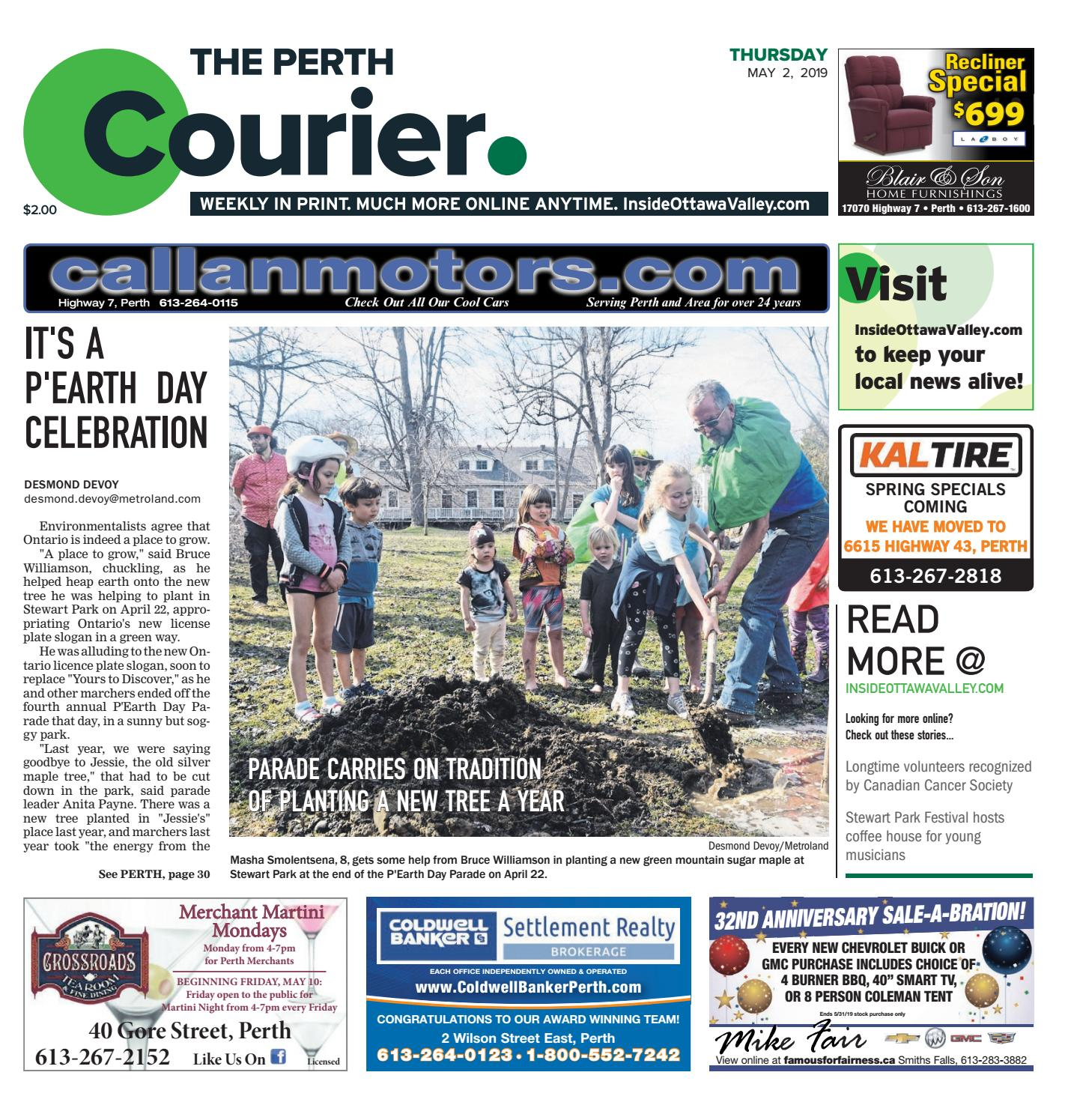 99c66912a95f The Perth Courier May 2, 2019 by Metroland East - The Perth Courier ...