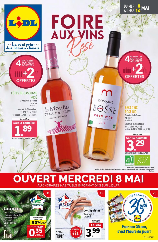Catalogue Lidl Du 8 Au 14 Mai 2019 By Monsieurechantillons