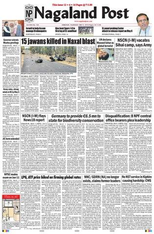 May 2, 2019 by Nagaland Post - issuu