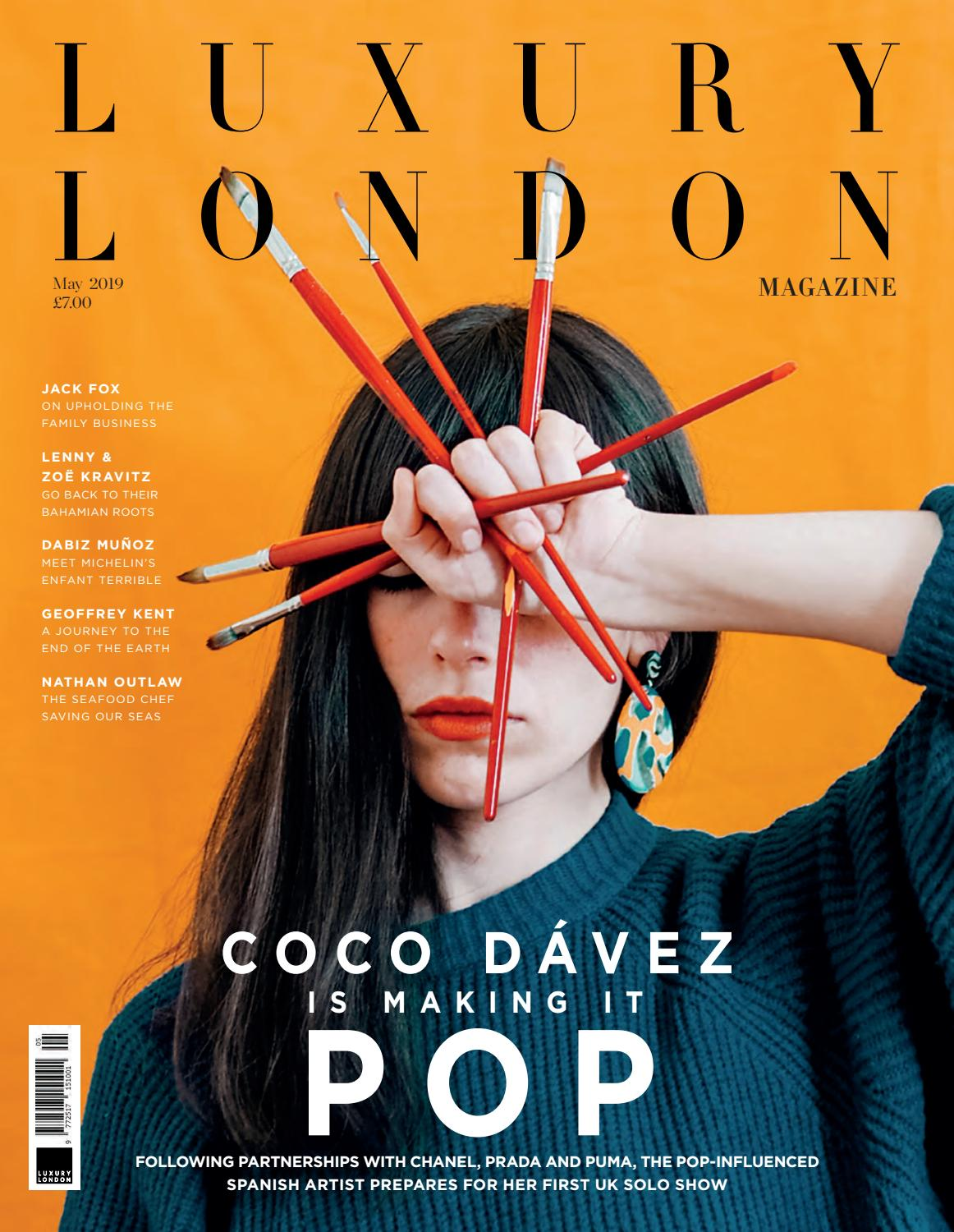 wholesale dealer 0a4ec 2c08f Luxury London Magazine May 2019