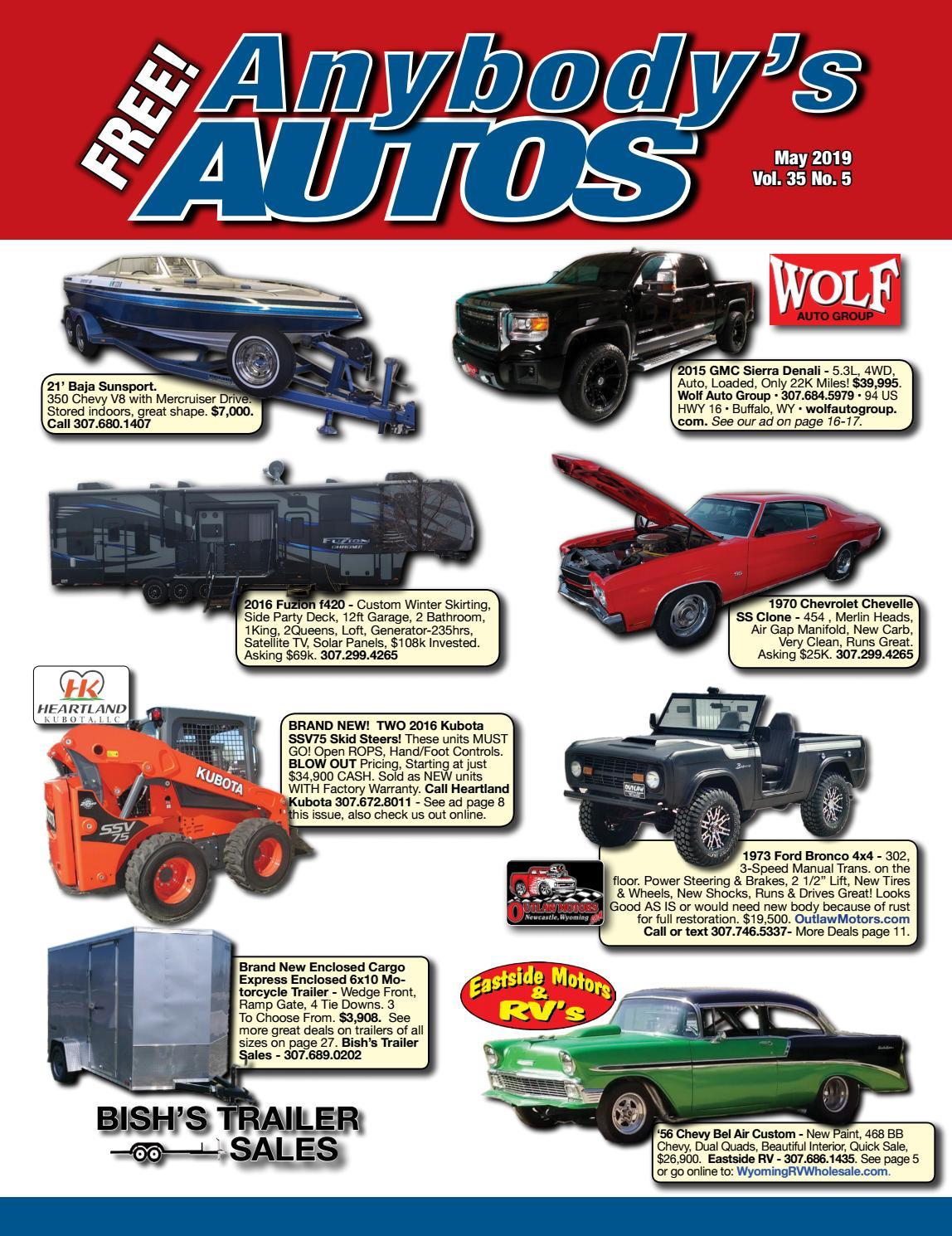 May 2019 by Anybodys Autos - issuu