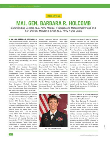 Page 10 of MAJ. GEN. Barbara R. Holcomb