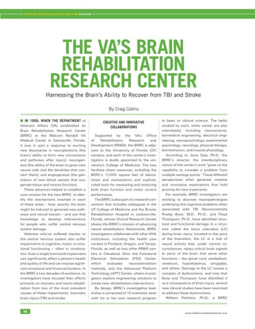 Page 62 of The VA's Brain Rehabilitation Research Center