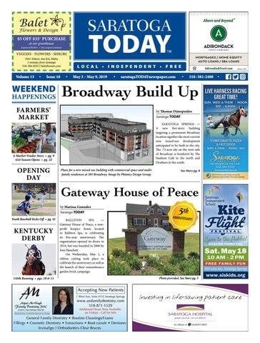 Saratoga TODAY 5 3 19 by Saratoga TODAY - issuu