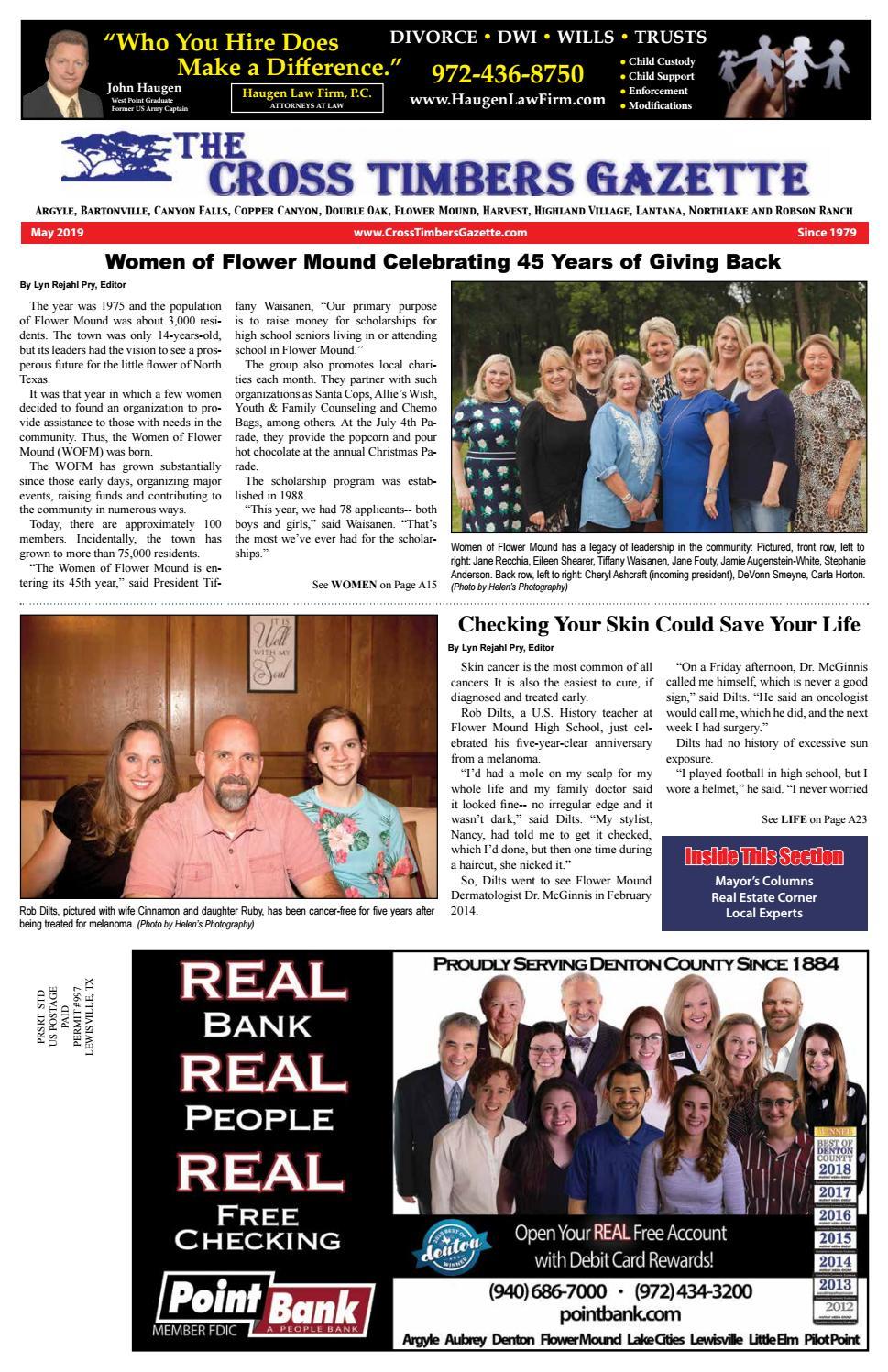 The Cross Timbers Gazette May 2019 by The Cross Timbers Gazette - issuu