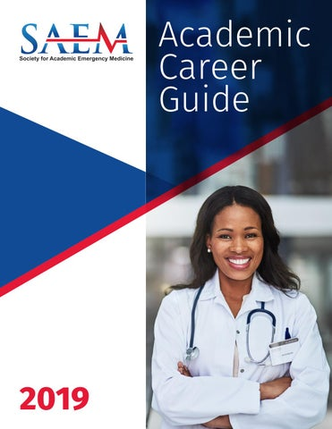 promo code d4128 d2429 SAEM 2019 Academic Career Guide