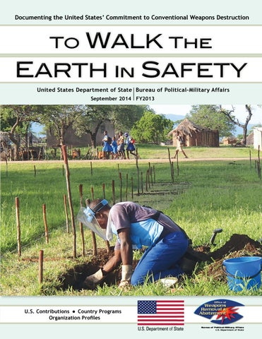 To Walk the Earth in Safety 2014 (FY13) by The Center for