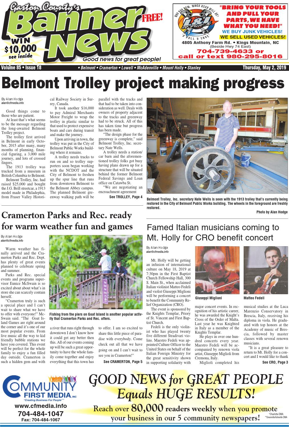 Banner-News 5-2-19 by Community First Media - issuu