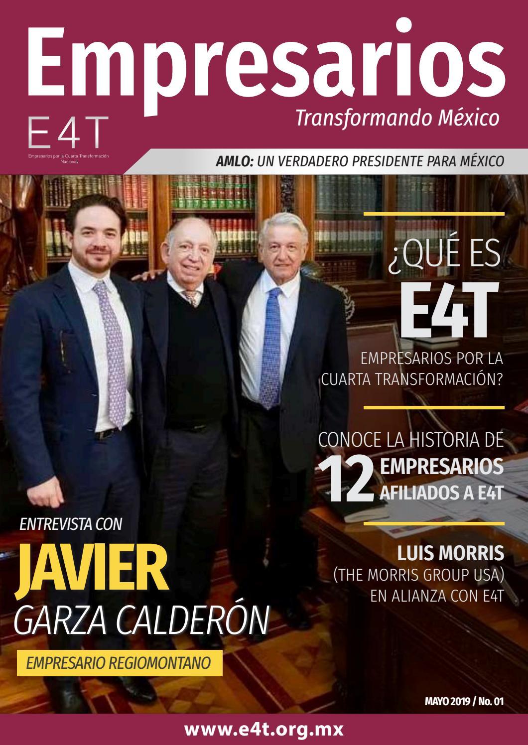 Revista Empresarios Transformando México / Edición 01