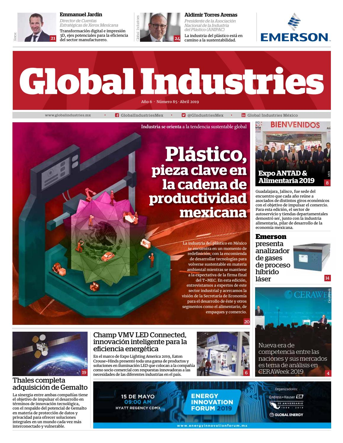 99f422e0555b Global Industries 85 - Abril 2019 by Global Industries México - issuu
