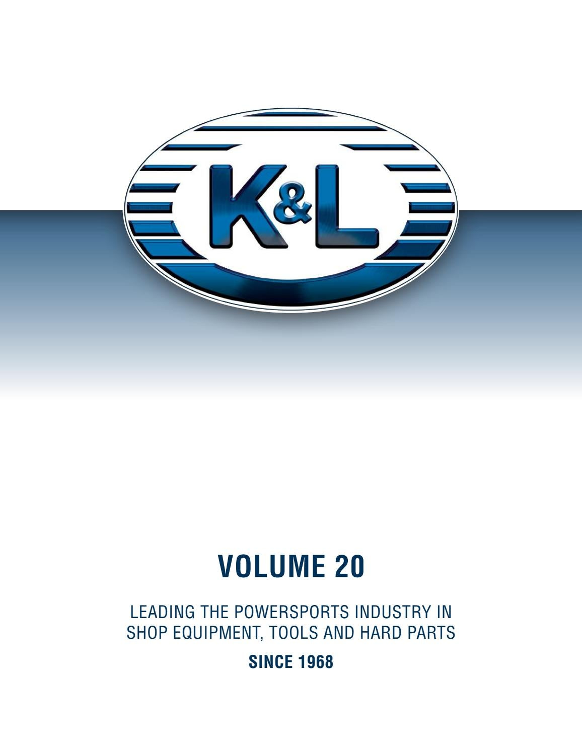K&L Supply Volume 20 Catalog by K&L Supply Company - issuu