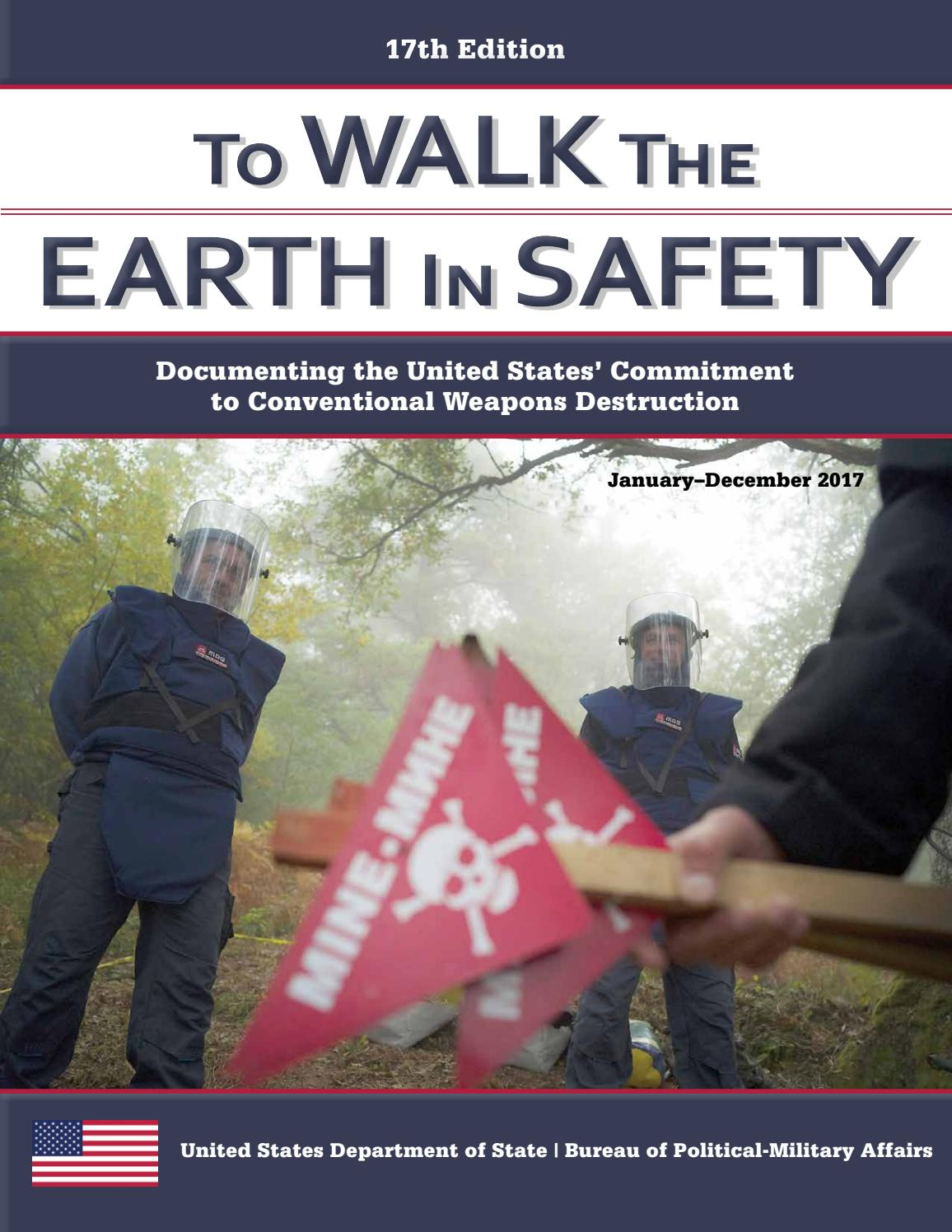 To Walk The Earth In Safety 2018 Cy17 By The Center For