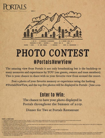 Portals Restaurant - # Contest by Suncadia Resort - issuu