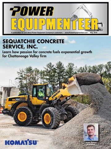 Power Equipment Equipmenteer, May 2019 by Construction