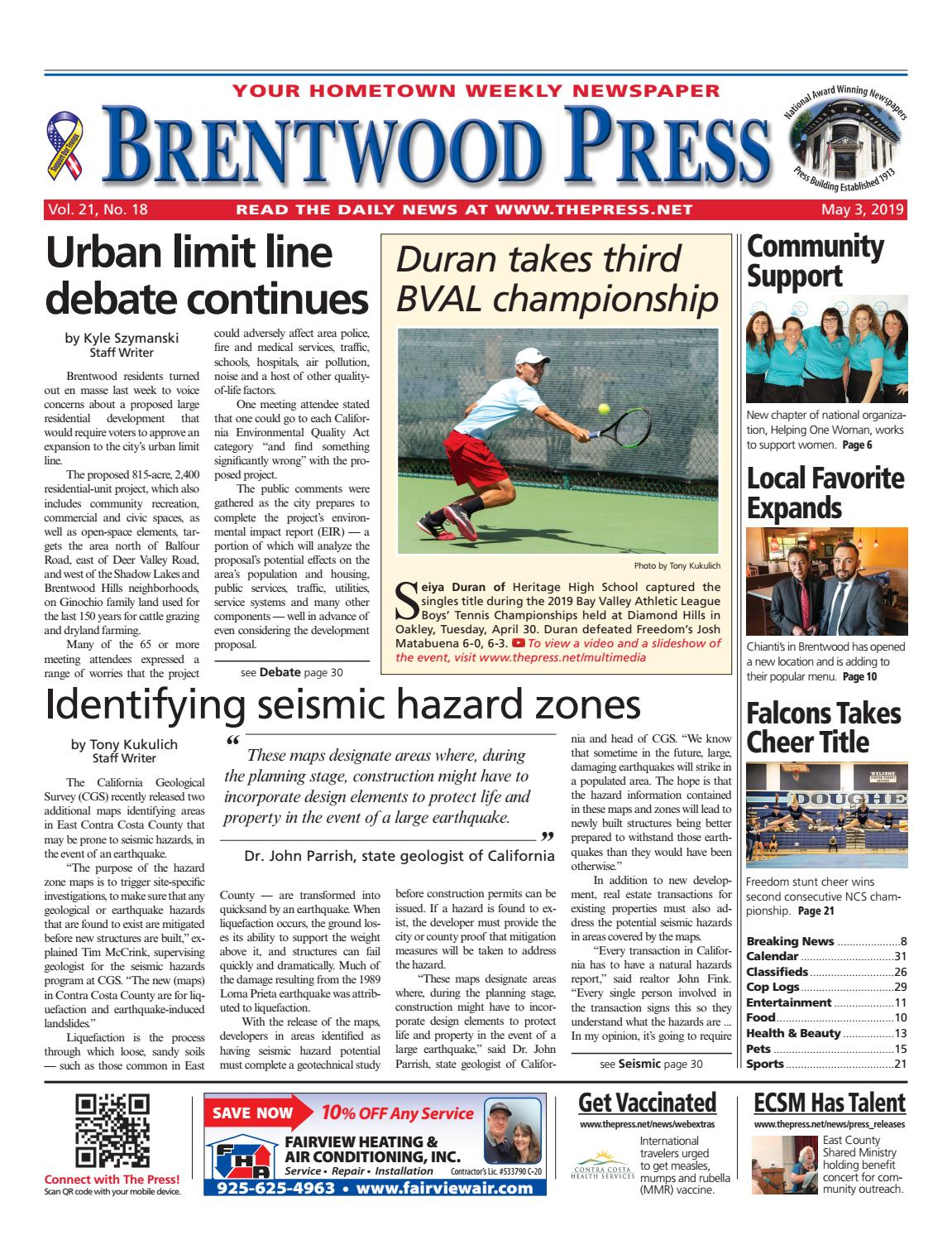 2880a718c5098 Brentwood Press 05.03.19 by Brentwood Press   Publishing - issuu