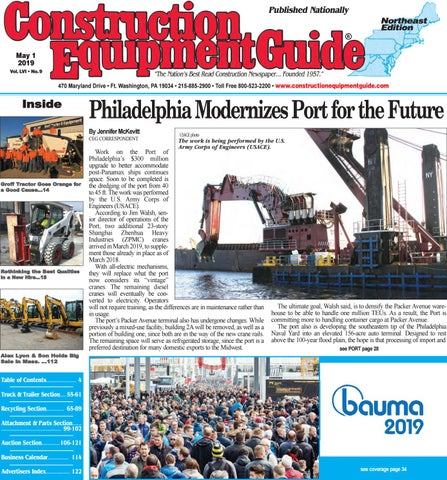 Northeast 9 May 1, 2019 by Construction Equipment Guide - issuu
