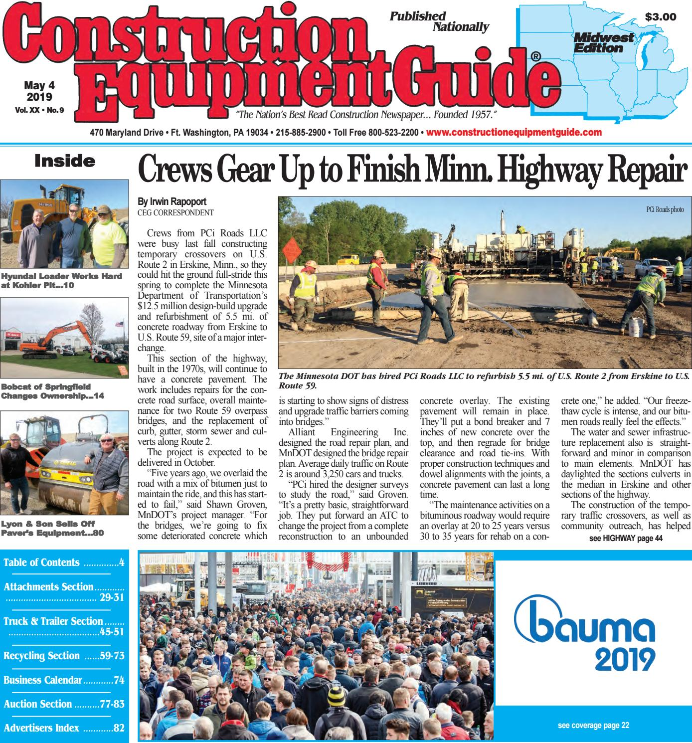Midwest 9 May 4, 2019 by Construction Equipment Guide - issuu
