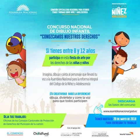 Concurso Nacional De Dibujo Infantil By Asamblea Nacional Del Ecuador Issuu