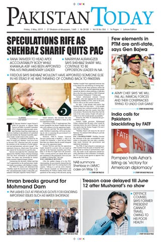 E-Paper PDF 3 May (LHR) by Pakistan Today - issuu