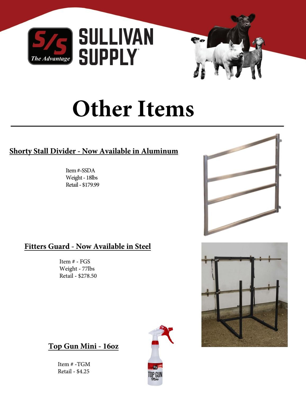 2019 Other New Items by Sullivan Supply- Product Sheets - issuu