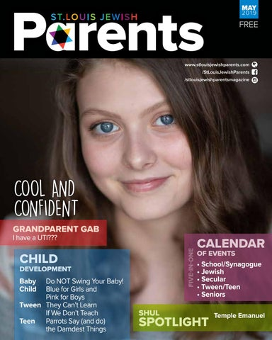 Hebrew Calendar 2014-2019 St Louis Jewish Parents, May 2019 by Saint Louis Jewish Parents