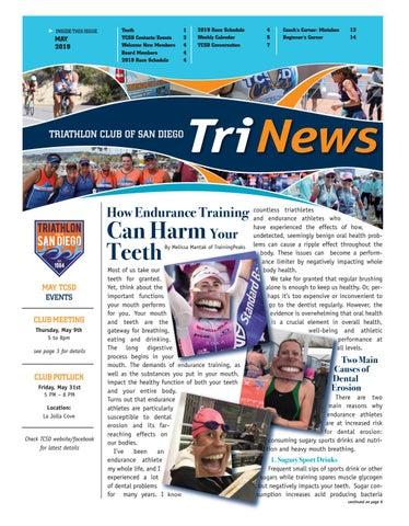TCSD TriNews, May 2019 by Triathlon Club of San Diego - issuu