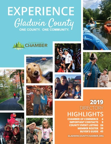 Ogemaw County Fair 2020.Gladwin County Chamber Of Commerce Directory 2019 By