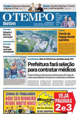 2c40a8bf4 O Tempo Betim - 3 a 9 de maio de 2019 by Tecnologia Sempre Editora ...
