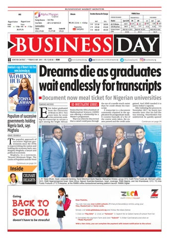 e81cb976dbe94 BusinessDay 03 May 2019 by BusinessDay - issuu