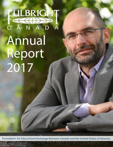 Annual Report 2018 English by Fulbright Canada - issuu