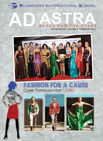 Ris Ad Astra Fashion For A Cause Come Through For Cebu By Ruamrudee International School Bangkok Issuu