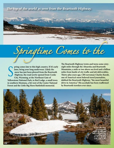 Page 22 of Spring Comes to the Beartooth Highway