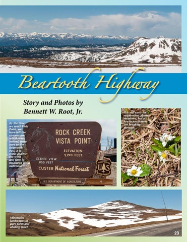 Page 23 of Spring Comes to the Beartooth Highway