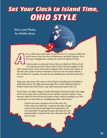 Page 43 of Set Your Clock to Island Time, Ohio Style