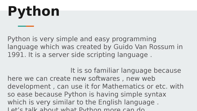 Python Training Institute by IT Training Institute - issuu