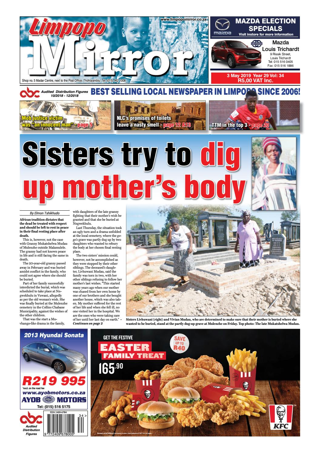 Limpopo Mirror 3 May 2019 by Zoutnet - issuu
